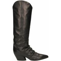 Schuhe Damen Klassische Stiefel Halmanera BARON nero