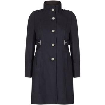 Kleidung Damen Mäntel Anastasia Klassischer Wintermantel Mit Stehkragen Black