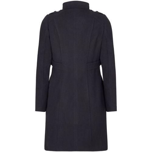 Anastasia Klassischer Wintermantel Mit Stehkragen Black - Kleidung Mäntel Damen 8999 zyIUd