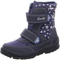 Schuhe Mädchen Schneestiefel Lurchi By Salamander Klettstiefel 333103332 K 3331033-32 blau