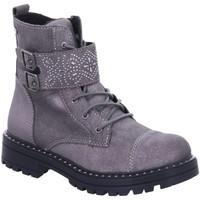 Schuhe Mädchen Boots Lurchi Schnuerstiefel 33-39003-25 grau