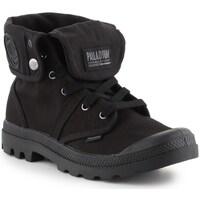 Schuhe Herren Sneaker High Palladium Manufacture Baggy Schwarz
