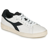 Schuhe Sneaker Low Diadora GAME L LOW USED Weiss / Schwarz