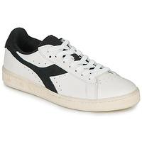 Schuhe Sneaker Low Diadora GAME L LOW USED Weiss / Schwarz