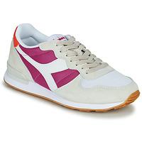 Schuhe Damen Sneaker Low Diadora CAMARO Beige / Rose