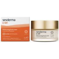 Beauty Damen pflegende Körperlotion Sesderma C-vit Crema Facial Hidratante  50 ml