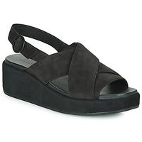 Schuhe Damen Sandalen / Sandaletten Camper MISIA Schwarz
