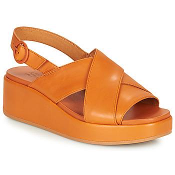 Schuhe Damen Sandalen / Sandaletten Camper MISIA Camel