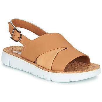 Schuhe Damen Sandalen / Sandaletten Camper TWINS Weiss