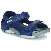 Schuhe Kinder Sandalen / Sandaletten Camper OUS Blau / Marine