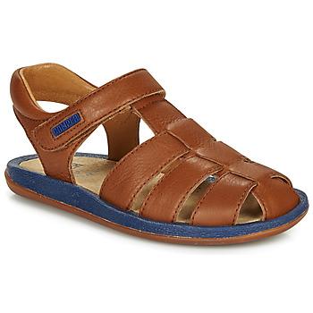 Schuhe Kinder Sandalen / Sandaletten Camper BICHO Braun / Marine