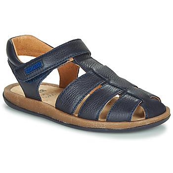 Schuhe Kinder Sandalen / Sandaletten Camper BICHO Blau / Marine