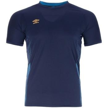 Kleidung Herren T-Shirts Umbro MAILLOT  POLY Blau
