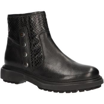 Geox D747AD 0FF04 D ASHEELY Negro - Kostenloser Versand |  - Schuhe Low Boots Damen 8999