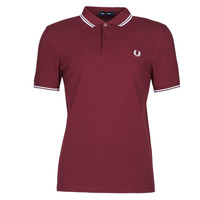 Kleidung Herren Polohemden Fred Perry TWIN TIPPED FRED PERRY SHIRT Bordeaux