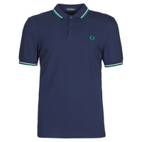 Kleidung Herren Polohemden Fred Perry TWIN TIPPED FRED PERRY SHIRT Blau