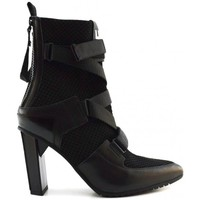 Schuhe Damen Low Boots United nude Luxor Sport Hi Black Multicolor