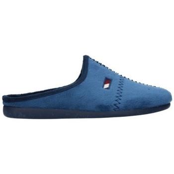 Schuhe Herren Hausschuhe Calzamur 1040 27120006 710 Hombre Azul marino bleu