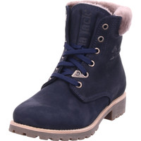 Schuhe Damen Stiefel Panama Jack - Panama 03 Igloo B27 Nobuck blau