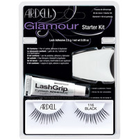 Beauty Damen Mascara  & Wimperntusche Ardell Kit Iniciacion Glamour 101-demi Black Set 3 Pz 3 u