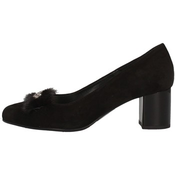 Schuhe Damen Pumps Soffice Sogno I9710 BLACK