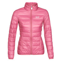 Kleidung Damen Daunenjacken Emporio Armani EA7 TRAIN CORE LADY W LT DOWN JACKET Rose