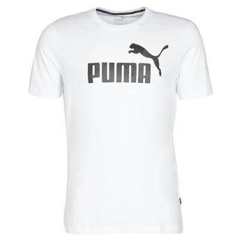 Kleidung Herren T-Shirts Puma ESSENTIAL TEE Weiss