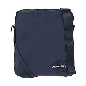 Taschen Herren Geldtasche / Handtasche Calvin Klein Jeans CKJ MONOGRAM NYLON MICRO FP Marine