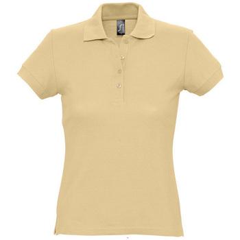 Kleidung Damen Polohemden Sols PASSION WOMEN COLORS Marrón