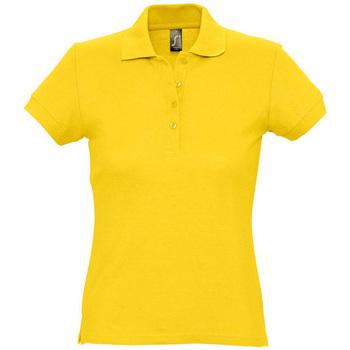 Kleidung Damen Polohemden Sols PASSION WOMEN COLORS Amarillo