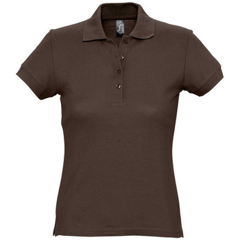 Kleidung Damen Polohemden Sols PASSION WOMEN COLORS Marrón