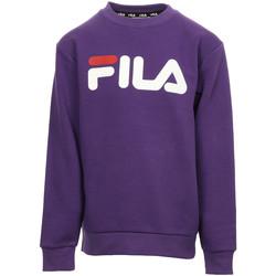 Kleidung Kinder Sweatshirts Fila Classic Logo Crew Kids Violett