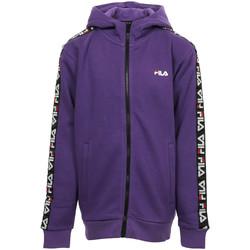 Kleidung Mädchen Sweatshirts Fila Adara Tape Zip Jacket Kids Violett
