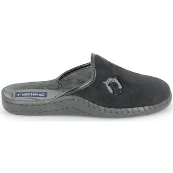 Schuhe Hausschuhe Boissy NELES Mule Noir Schwarz