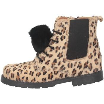 Schuhe Mädchen Low Boots Eli 1957 6235Z Stiefel Kind Leopard Leopard
