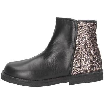 Schuhe Mädchen Low Boots Eli 1957 6202Z NERO/GLIT ROSA Beatles Kind Schwarz / Pink Schwarz / Pink