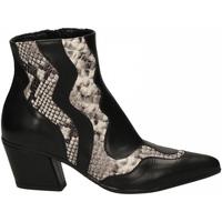 Schuhe Damen Pumps Mivida VITELLO nero