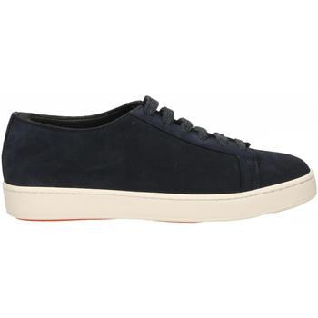 Schuhe Herren Sneaker Santoni TENNIS 6F+T.LIS+INF. DEDEU u55-blu