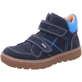 Schuhe Jungen Sneaker High Lurchi Klettstiefel 33-13516-22 blau