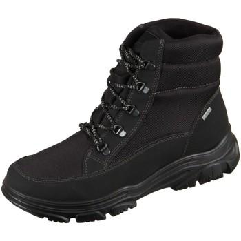 Schuhe Herren Boots Ara Freno 11-24901-61 black Tech Mesh 11-24901-61 schwarz