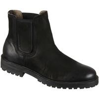 Schuhe Herren Boots Ten Points Bertil 218002-101 black Leder 218002-101 schwarz