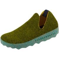 Schuhe Damen Hausschuhe Asportuguesas CITY L P018003017 017 grün