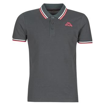 Kleidung Herren Polohemden Kappa ESMO Grau / Weiss / Orange