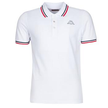 Kleidung Herren Polohemden Kappa ESMO Weiss