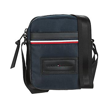 Taschen Herren Geldtasche / Handtasche Tommy Hilfiger MODERN NYLON MINI REPORTER Marine
