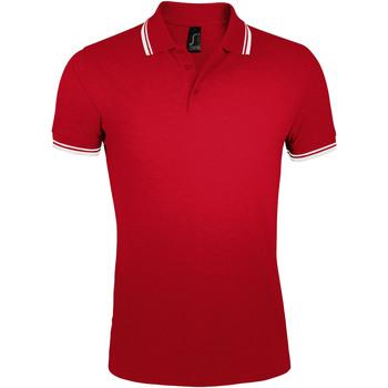 Kleidung Herren Polohemden Sols PASADENA MODERN MEN Rojo