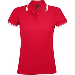 Kleidung Damen Polohemden Sols PASADENA MODERN WOMEN Rojo