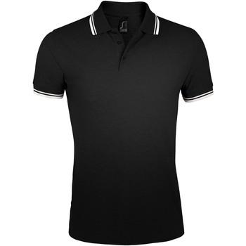 Kleidung Herren Polohemden Sols PASADENA MODERN MEN Negro