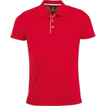 Kleidung Herren Polohemden Sols PERFORMER MEN SPORT Rojo