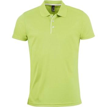 Kleidung Herren Polohemden Sols PERFORMER MEN SPORT Verde